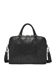 Fossil Mayfair Leather Workbag Black