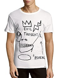 Eleven Paris Basquiat Short Sleeve Cotton Tee White