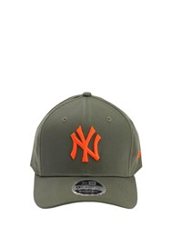 New Era Tonal Stretch 9Fifty Snap Baseball Hat Green