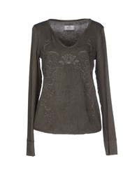 Mason's Topwear T Shirts Women Grey