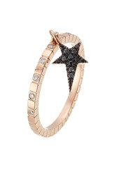 Diane Kordas 18Kt Rose Gold Ring With Diamonds