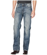 Rock And Roll Cowboy Double Barrel In Medium Wash M0s5123 Medium Wash Jeans Navy