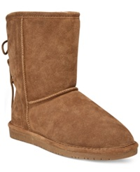 Bearpaw Elizabeth Cold Weather Booties Women's Shoes Hickory