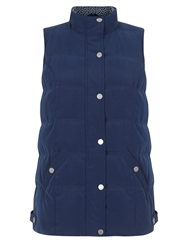 Dash Padded Gilet Midnight Blue