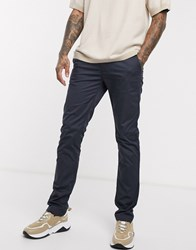 Boss Rice 3D Slim Fit Chinos Blue