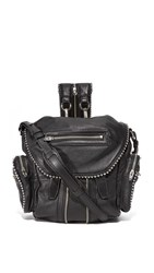 Alexander Wang Ball Stud Mini Marti Backpack Black
