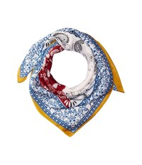 San Diego Hat Company Bss3539 Square Woven Scarf With Paisley Print Yellow Scarves