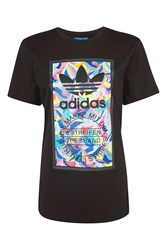 Adidas 80S Graphic T Shirt By Originals Black