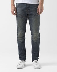 G Star Tapered Slim Stretch Faded Blue Osato Jeans