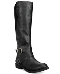 Styleandco. Style Co. Lolah Wide Calf Boots Only At Macy's Women's Shoes Black
