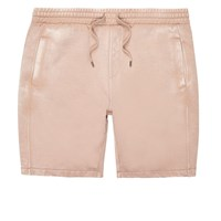 River Island Menslight Pink Casual Burnout Shorts