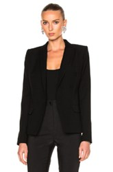 Alexandre Vauthier Double Breasted Blazer In Black