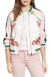 Paul And Joe Sister Women's Les Fleurs Embroidered Bomber Jacket
