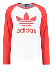 Adidas Originals Long Sleeved Top White Corred