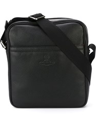 Vivienne Westwood Zip Messenger Bag Black