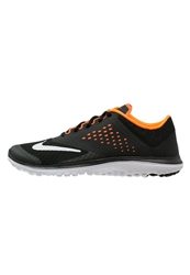 Nike Performance Fs Lite Run 2 Lightweight Running Shoes Black White Total Orange