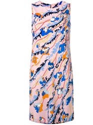 Emilio Pucci Floral Print Shift Dress