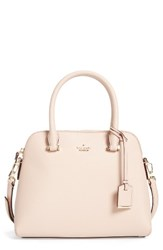 Kate Spade New York Cameron Street Maise Leather Satchel Beige Toasted Wheat