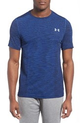 Under Armour Men's Regular Fit Threadborne Seamless T Shirt Blackout Navy