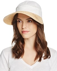 Gottex Regatta Hat And Visor White Natural
