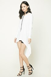 Forever 21 Slub Knit High Low Tunic