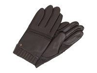 Ugg Calvert Textured Tech Leather Glove Brown Multi Extreme Cold Weather Gloves