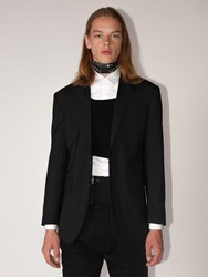 Dsquared New York Wool Blend Jacket Black
