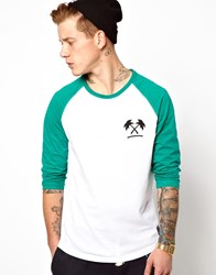 Trainerspotter Baseball Top White