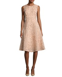 Lela Rose Juliet Sleeveless Party Dress Shell