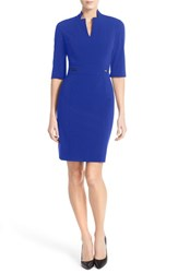 Tahari Women's Bi Stretch Sheath Dress