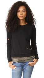 Generation Love West Camo Double Layer Sweatshirt Black Camo