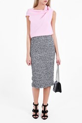 Roland Mouret Women S Norley Pencil Skirt Boutique1 Navy