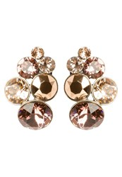 Konplott Petit Glamour Earrings Beige Pink Rose