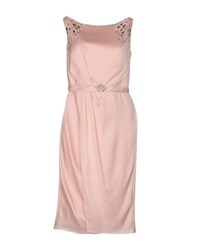 Carlo Pignatelli Dresses Knee Length Dresses Women Pink