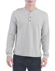 Sovereign Code Heith Henley Shirt Grey