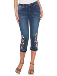 Rafaella Embroidered Slimming Jeans Hudson Blue
