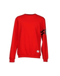 A Question Of Sweatshirts Red