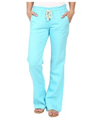 Roxy Ocean Side Pant Blue Radiance Women's Casual Pants