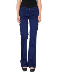 M.Grifoni Denim Trousers Casual Trousers Women Blue