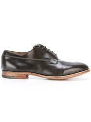 Premiata Book Brass Derbies Brown