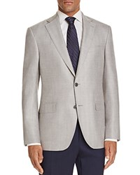 Jack Victor Herringbone Classic Fit Sport Coat Light Gray