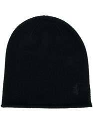 Pringle Of Scotland Cashmere Beanie Cashmere Black