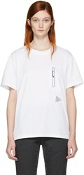 And Wander Off White Seamless T Shirt