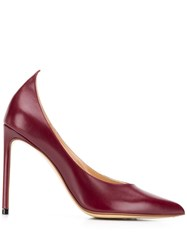 Francesco Russo Pointed Stiletto Pumps Red