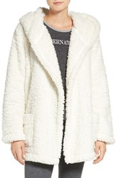 Make Model Women's 'Oh So Cozy' Hooded Cardigan