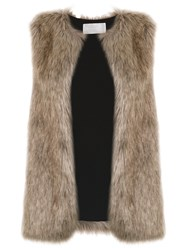 Lilly Sarti Fox Gilet Brown