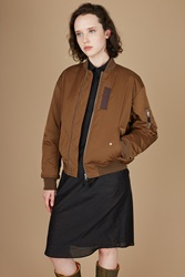 G.V.G.V. Lace Up Ma 1 Blouson Brown