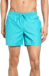Lacoste Men's Solid Swim Trunks