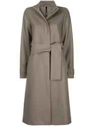 Taylor Refined Reflection Coat Brown