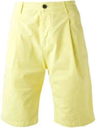 Msgm Chino Shorts Yellow And Orange